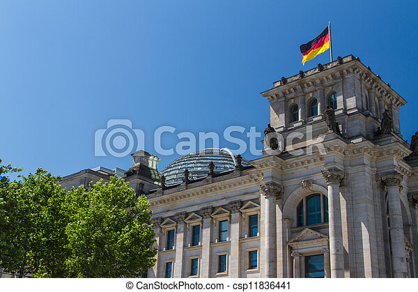 Berlin Government District - csp11836441