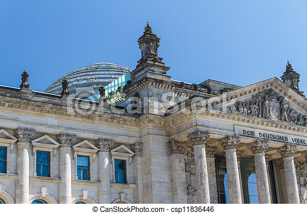 Berlin Government District - csp11836446