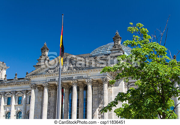 Berlin Government District - csp11836451
