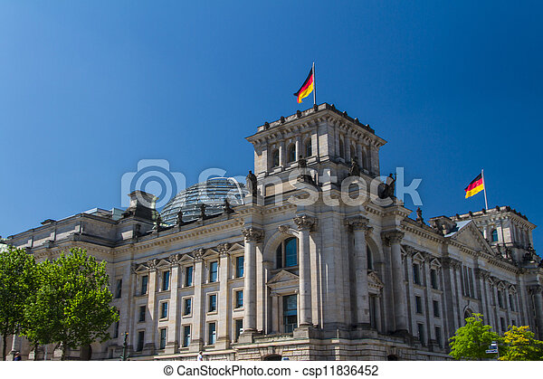 Berlin Government District - csp11836452