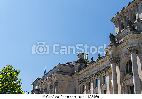 Berlin Government District - csp11836469