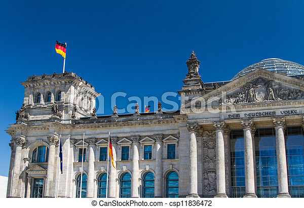 Berlin Government District - csp11836472