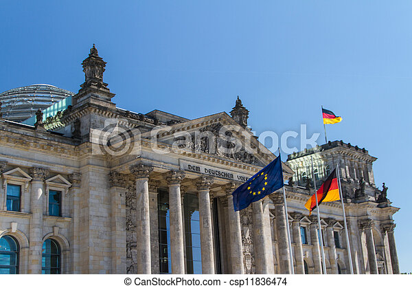Berlin Government District - csp11836474