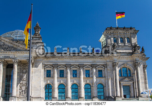 Berlin Government District - csp11836477