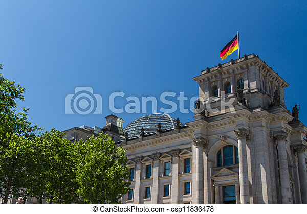 Berlin Government District - csp11836478
