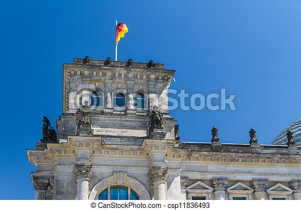 Berlin Government District - csp11836493