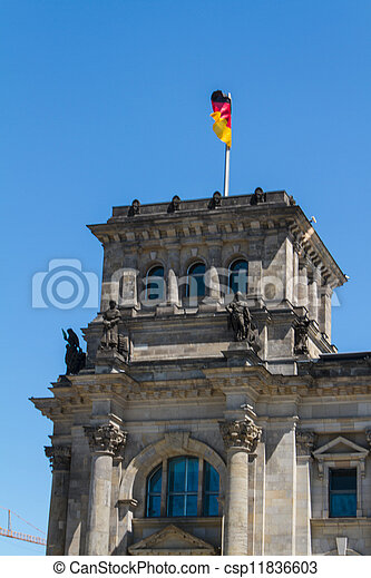Berlin Government District - csp11836603