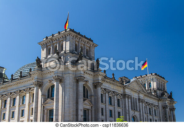 Berlin Government District - csp11836636