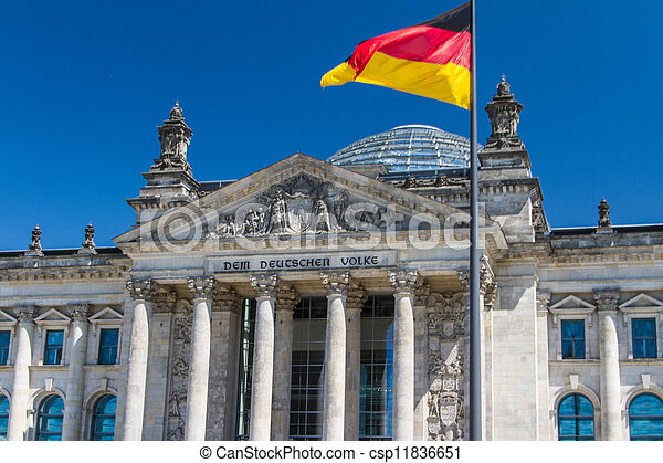 Berlin Government District - csp11836651