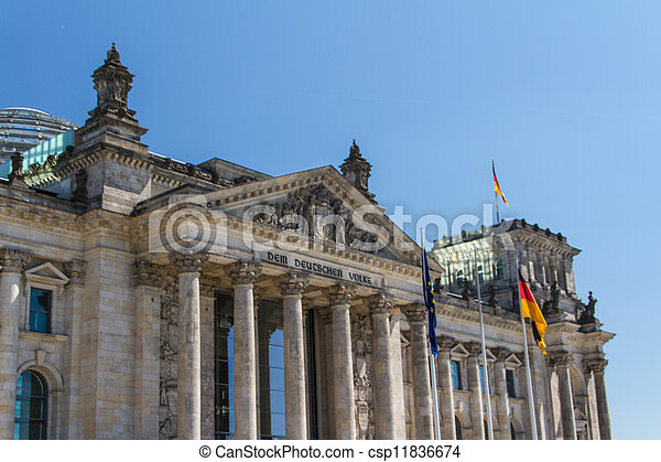 Berlin Government District - csp11836674
