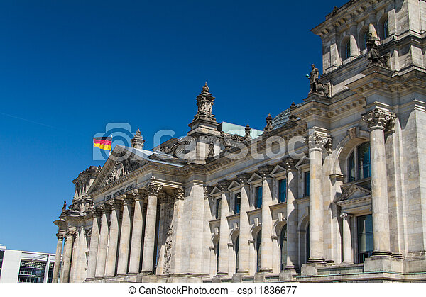 Berlin Government District - csp11836677