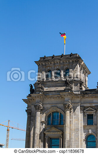 Berlin Government District - csp11836678