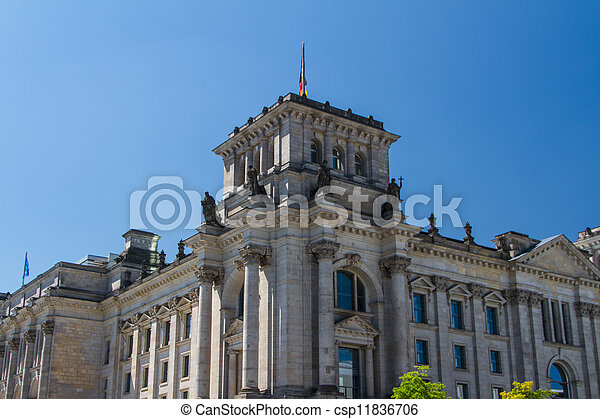 Berlin Government District - csp11836706