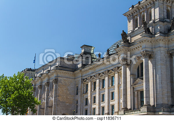 Berlin Government District - csp11836711