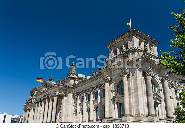 Berlin Government District - csp11836713