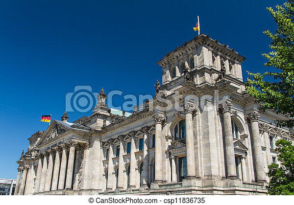 Berlin Government District - csp11836735