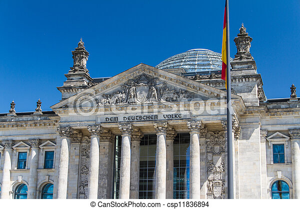 Berlin Government District - csp11836894