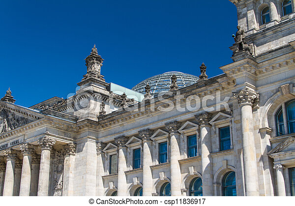 Berlin Government District - csp11836917