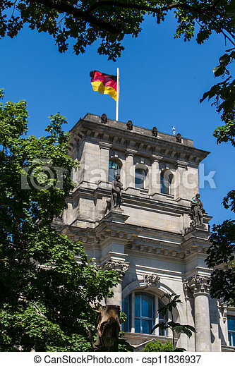 Berlin Government District - csp11836937