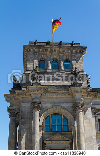 Berlin Government District - csp11836940