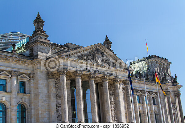 Berlin Government District - csp11836952