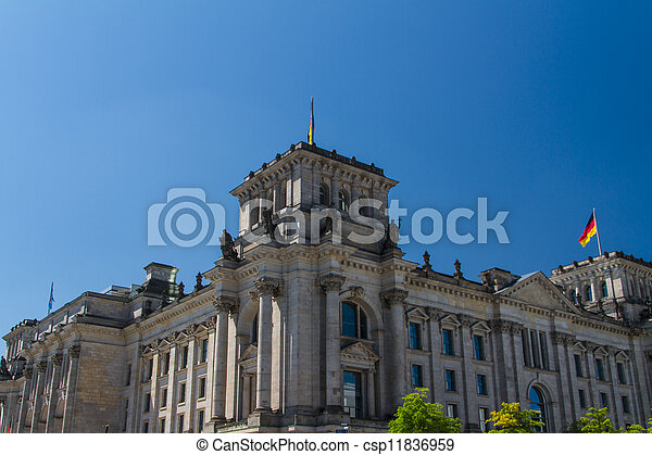 Berlin Government District - csp11836959