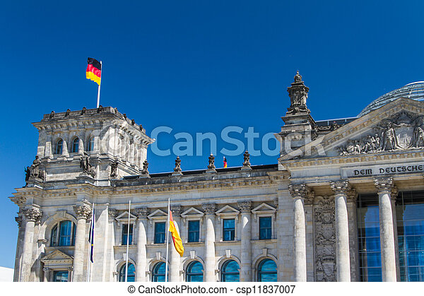 Berlin Government District - csp11837007