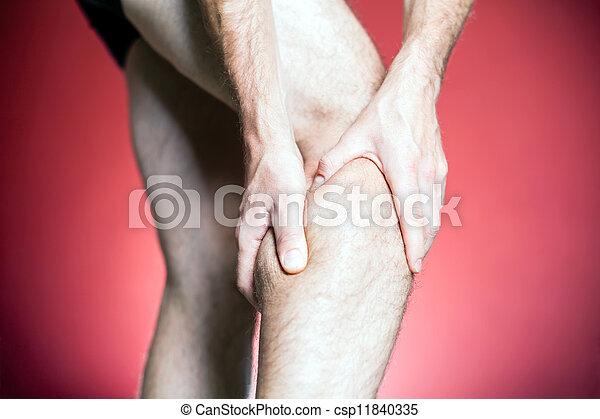 Knee Pain - csp11840335