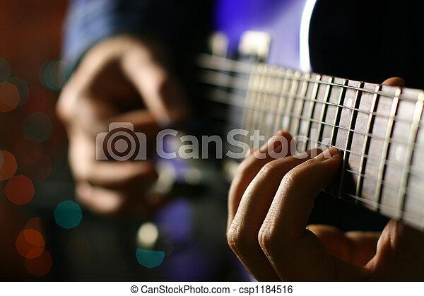 guitar solo  - csp1184516