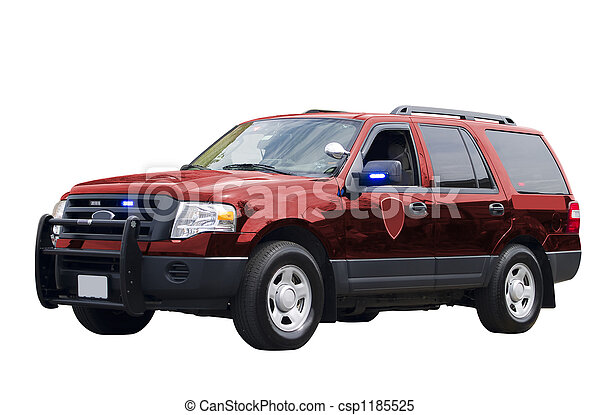 Government Vehicle Isolated - csp1185525