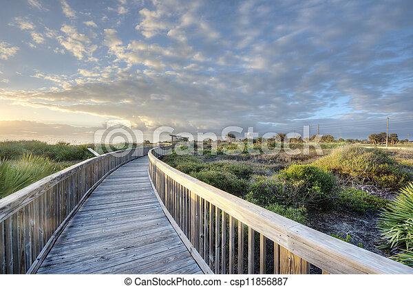 Sunrise in Satellite Beach - csp11856887