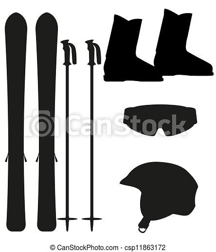 Ski Clipart Vector and Illustration. 12,349 Ski clip art vector ...