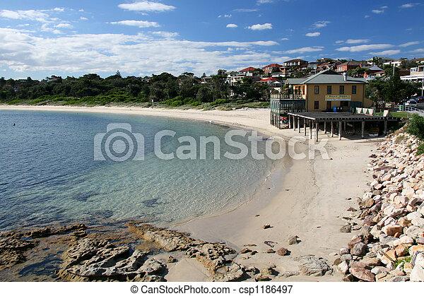 Sandy Beach - Botany Bay, Sydney, Australia - csp1186497