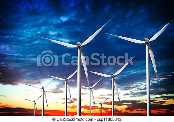 Clean Energy - csp11865843