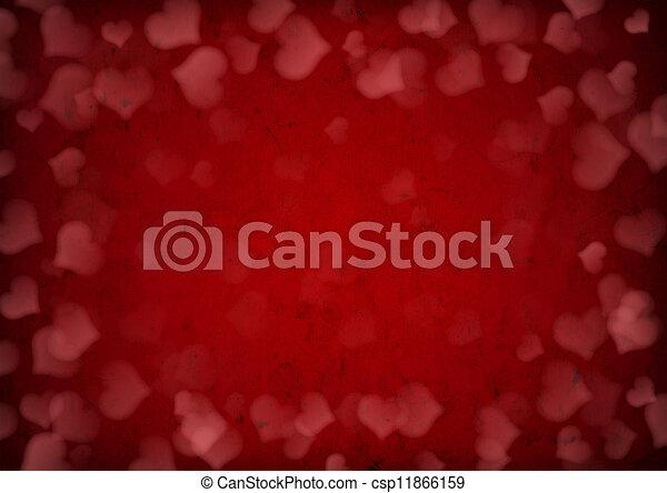 Valentine's day background  - csp11866159