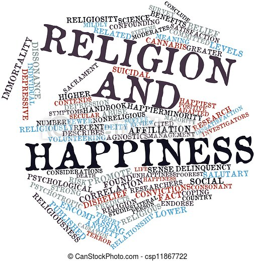 Religion and happiness - csp11867722