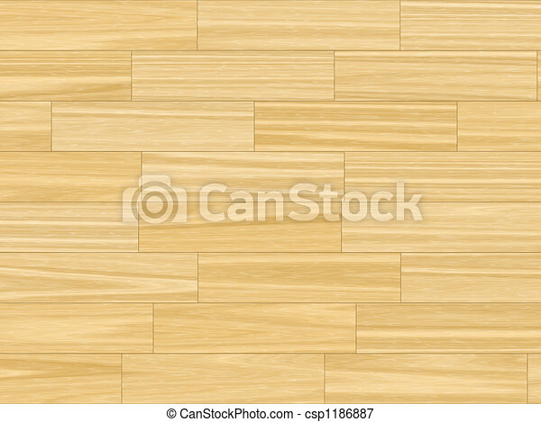 butter yellow parquet flooring - csp1186887