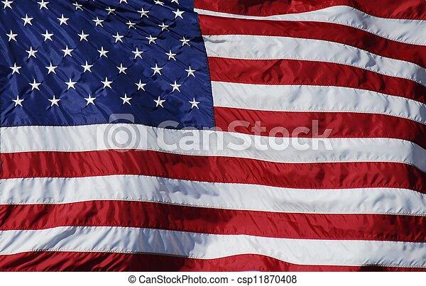 American Flag - csp11870408