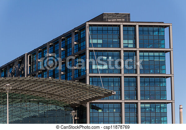 The Bundeskanzleramt / Kanzleramt / Chancellery is the seat of the German federal government and the residence of the German Bundeskanzler (Chancellor). It is located in Berlin, Germany. - csp11878769