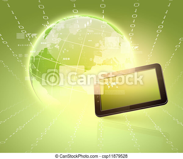 Modern communication technology - csp11879528
