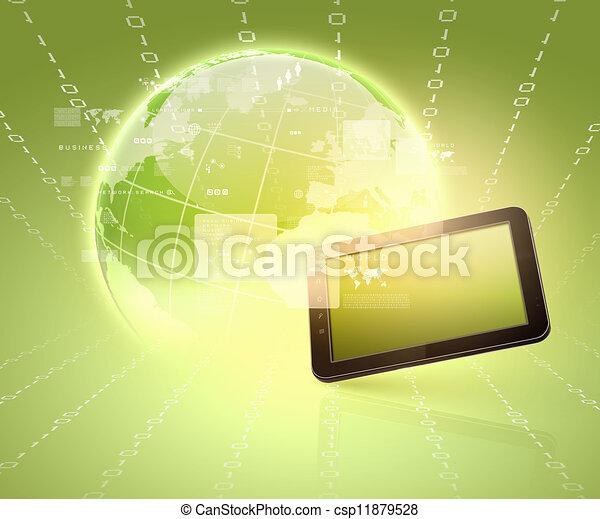 Modern communication technology - csp11879528