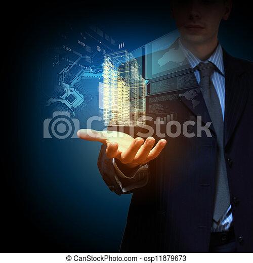 engineering automation building design - csp11879673