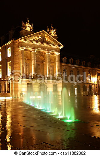 Dijon government building - csp11882002