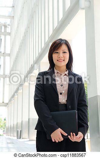 chinese female student in formal