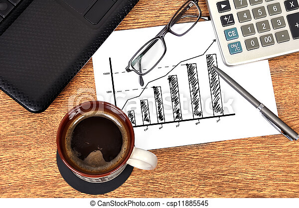 Note chart profits - csp11885545