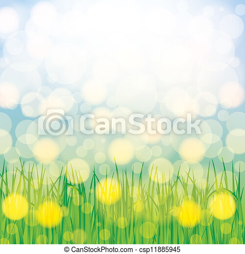 Abstract spring summer background - csp11885945