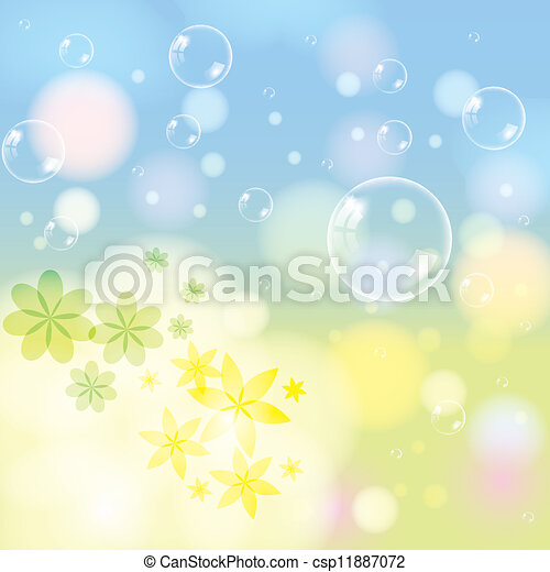 Abstract spring summer background - csp11887072