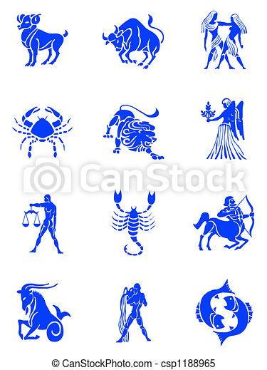 Zodiac signs - csp1188965