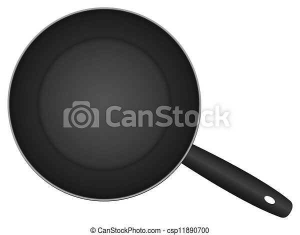 Frying Pan Drawing Vector Frying Pan