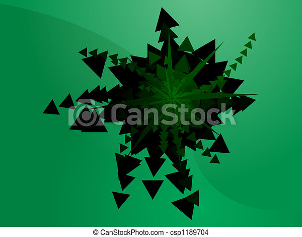 Geometric explosion - csp1189704